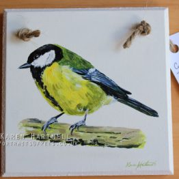 Great Tit Plaque