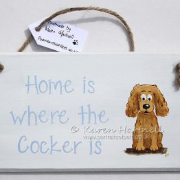 Cocker Spaniel Plaque