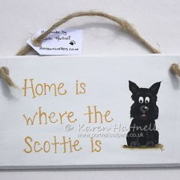 Scottie Scottish Terrier plaque