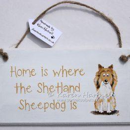 Sheltie Shetland Sheepdog plaque