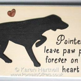 Pointer Plaque
