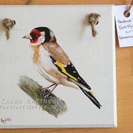 British Bird Painted Plaques