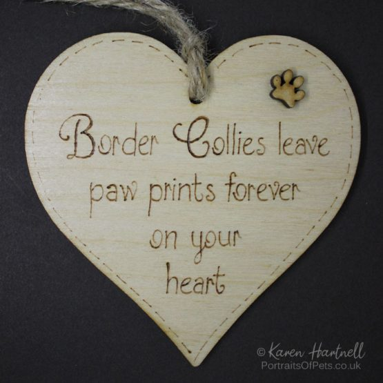 Border Collies plaque