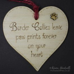 Border Collies plaque